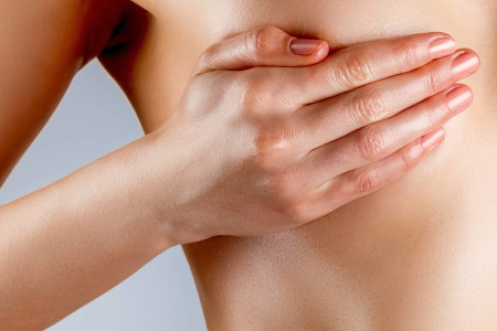 Features of breast augmentation during mammary gland involution