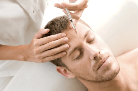 Common myths about 'beauty injections' in the forehead