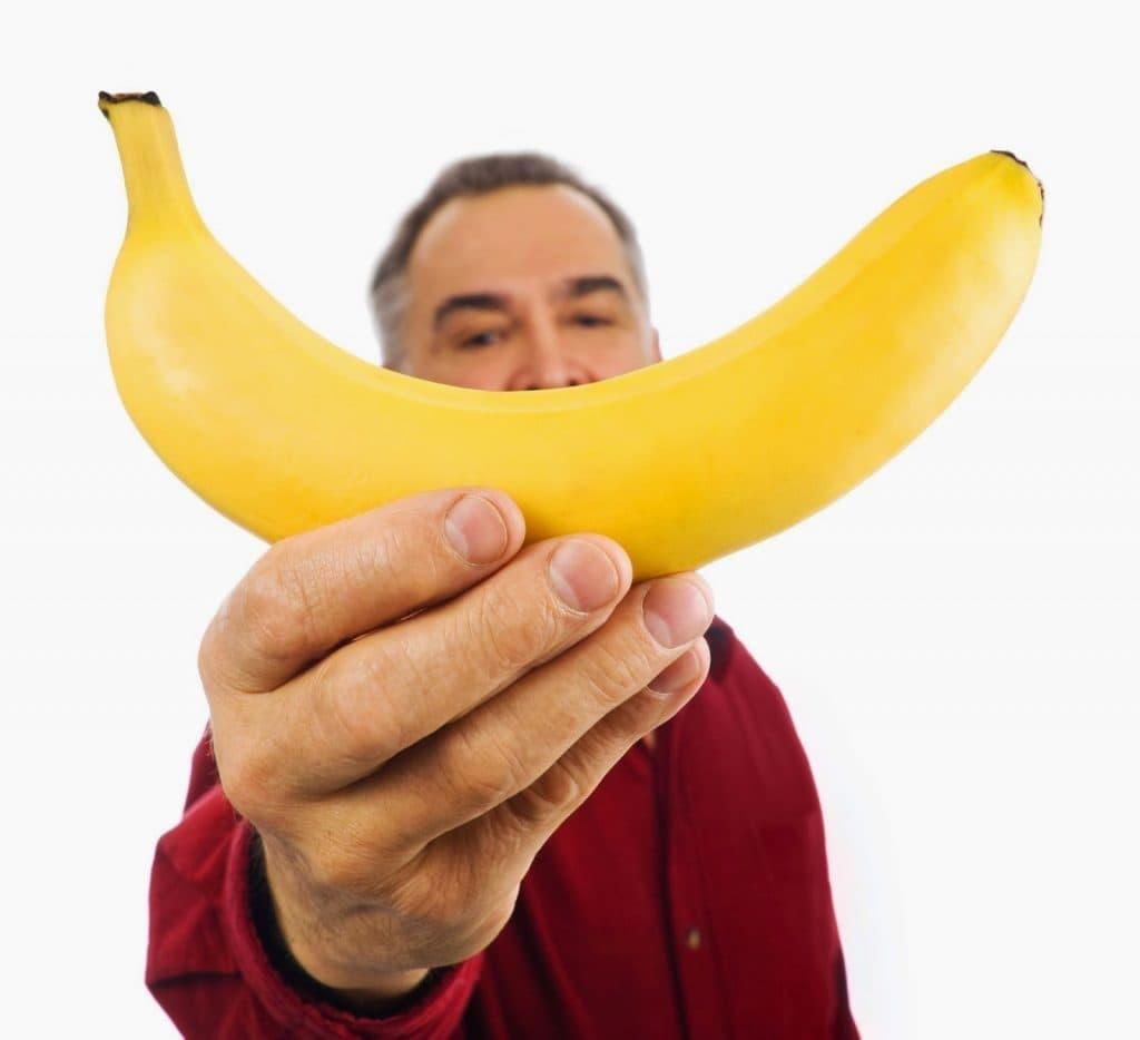 Бананы и мужчина картинка