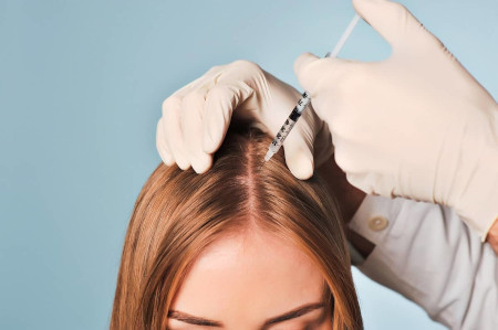 Plasma lifting for hair