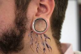 How to grow holes in your ears?