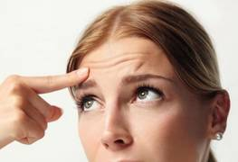 How to get rid of wrinkles on the forehead?