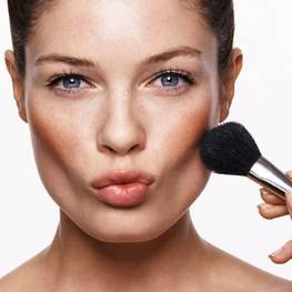 Highlighting of the cheekbones: cheekbone shape correction methods